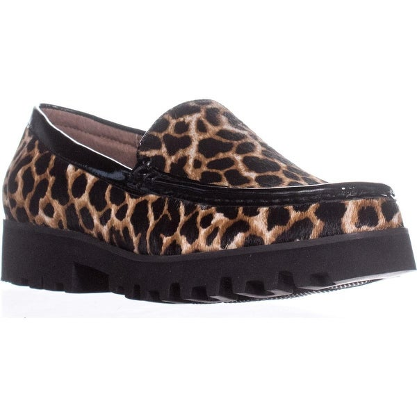 Donald J Pliner Rio 3 Tread Sole Casual Loafers, Black - 6.5 us