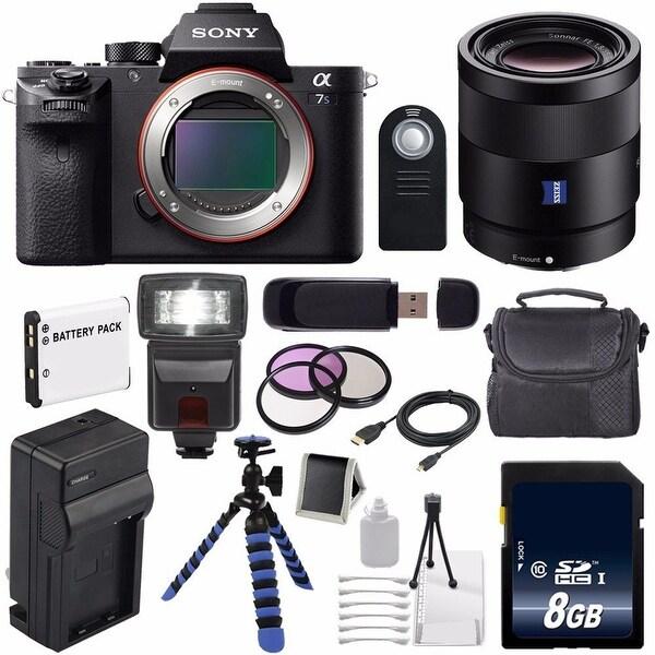 Sony Alpha a7S II a7S Mark II a7SII ILCE7SM2/B Mirrorless Digital Camera (International Model no Warranty) 6AVE Bundle 95