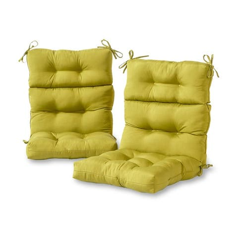 Driftwood Outdoor All-weather High-back Chair Cushions (Set of 2) by Havenside Home