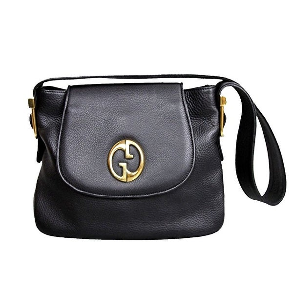 40f321826c5 Shop Gucci Limited Edition  1973  Leather Shoulder Bag - Free ...