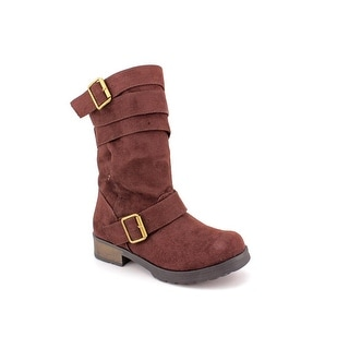 Dirty Laundry Noted Women Round Toe Synthetic Brown Mid Calf Boot