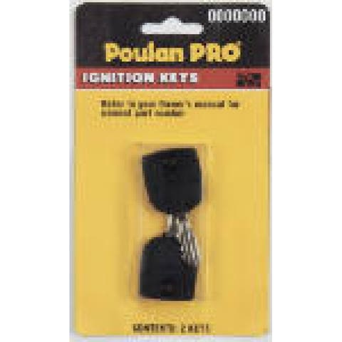 Poulan Pro PP60005 Replacement Ignition Key, 2-Pack