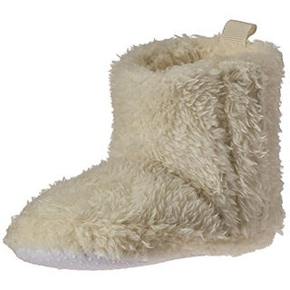 Luvable Friends Booties Adjustable Sherpa