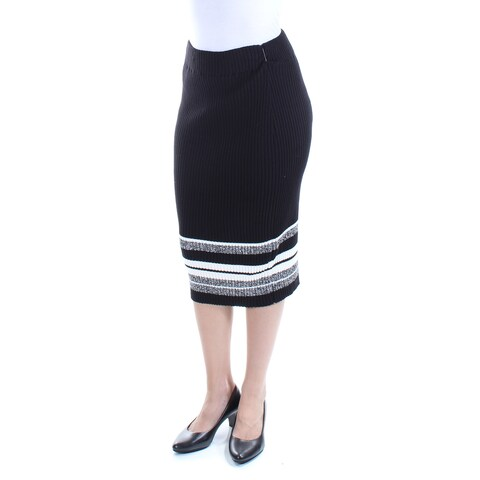Womens Black Casual Skirt Size 2XS