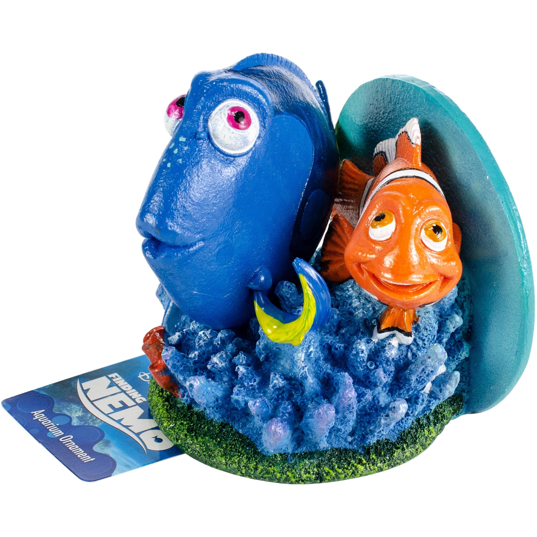 Disney Pixar Finding Nemo Aquarium Ornament Dory Marlin Small 4 High