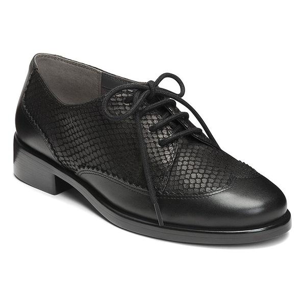 Aerosoles Womens ACCOMPLISHMENT Leather Round Toe Oxfords