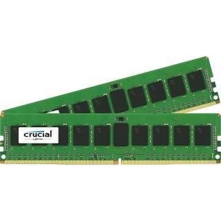 Crucial CT2K8G4RFS4213 Crucial 16GB Kit (8GBx2) DDR4 PC4-17000 Registered ECC 1.2V - 16 GB (2 x 8 GB) - DDR4 SDRAM - 2133 MHz|https://ak1.ostkcdn.com/images/products/is/images/direct/511bed3c4810536dc57e020d30e28c1f526eb530/Crucial-CT2K8G4RFS4213-Crucial-16GB-Kit-%288GBx2%29-DDR4-PC4-17000-Registered-ECC-1.2V---16-GB-%282-x-8-GB%29---DDR4-SDRAM---2133-MHz.jpg?impolicy=medium