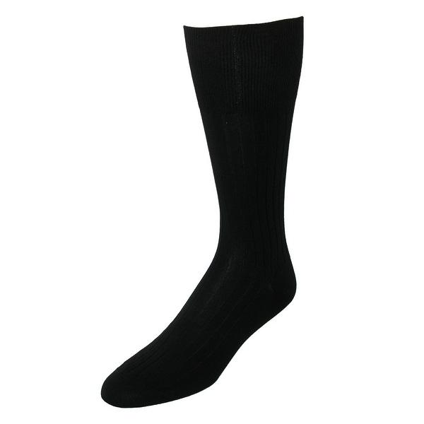 Marcoliani Men's Ribbed Dress Code Trouser Socks