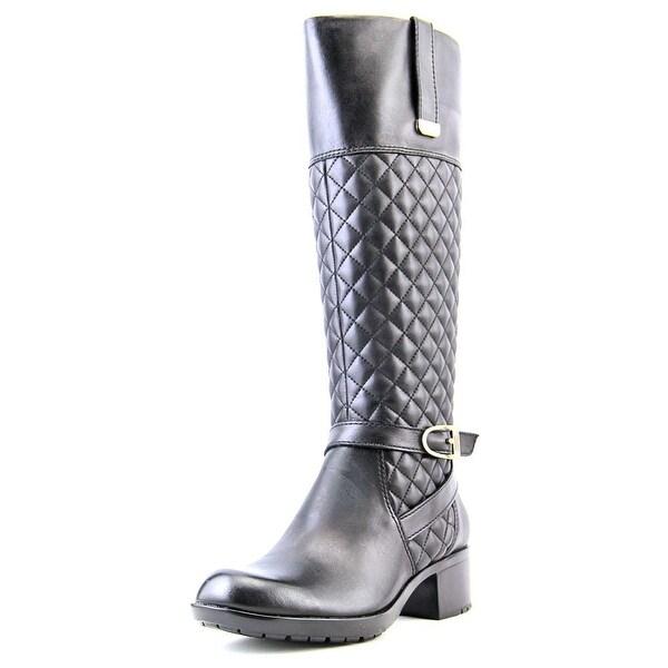 Bandolino Blushe Round Toe Leather Knee High Boot