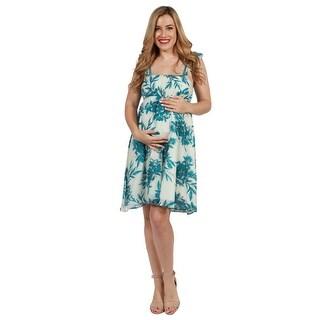 24seven Comfort Apparel Cameron Maternity Dress