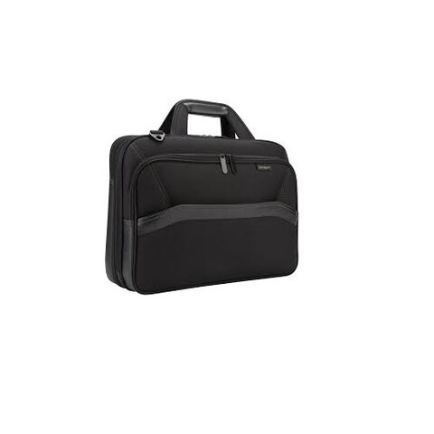 Targus Tbt256 Spruce Ecosmart Checkpoint-Friendly 15.6-Inch Laptop Bag Black