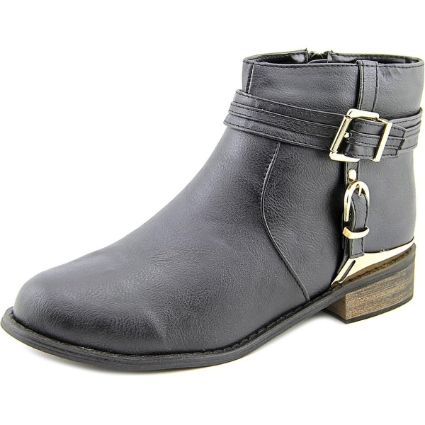 Bucco Capensis Lubrano Round Toe Synthetic Ankle Boot