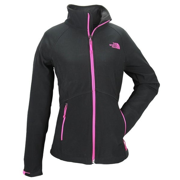 3751aa772 good north face black pink jacket 93dd7 9c386