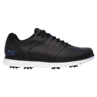 Skechers Men's GO GOLF PRO 2 Black/Blue Golf Shoes 54509/BKBL