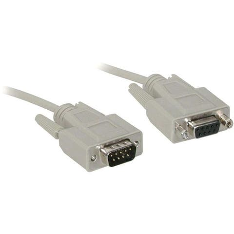 C2g 02711 6ft db9 m/f extension cable - beige