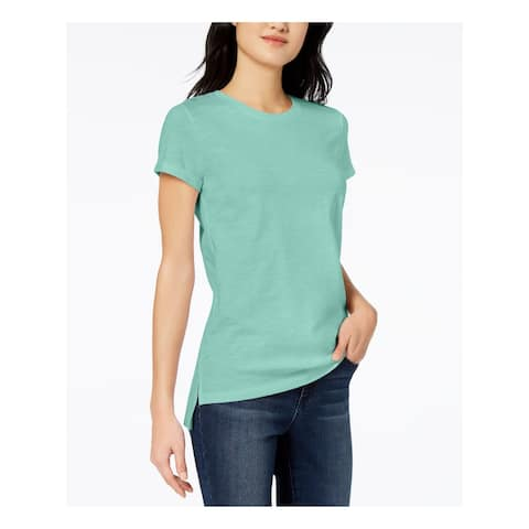 MAISON JULES Green Short Sleeve T-Shirt Top XL