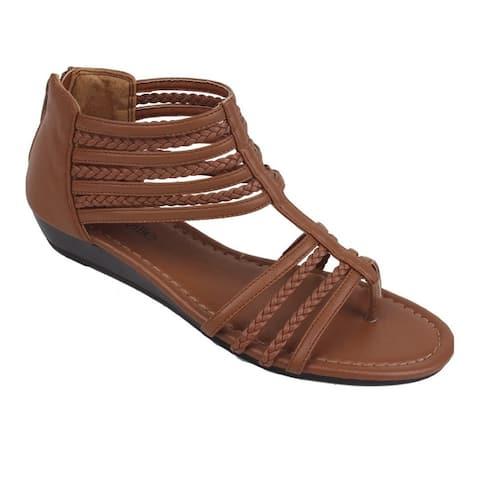 Treat For Feet Open Toe Gladiator Sandals