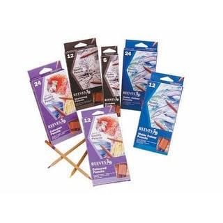 Reeves - Value Pencil & Watercolor Pencil Set - Colored Pencil - 12-Color Set