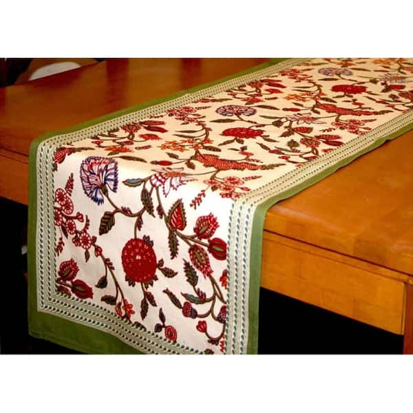 Red Floral Print Table Cover dinning table cover Table Cloth Free Shipping