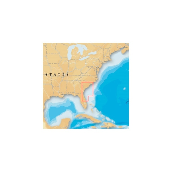 Navionics Platinum Plus South Carolina and North Florida MSD/642PP Platinum  Plus South Carolina and North Florida - Brown