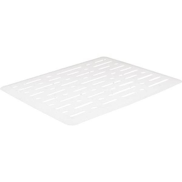 Rubbermaid White Small Sink Mat