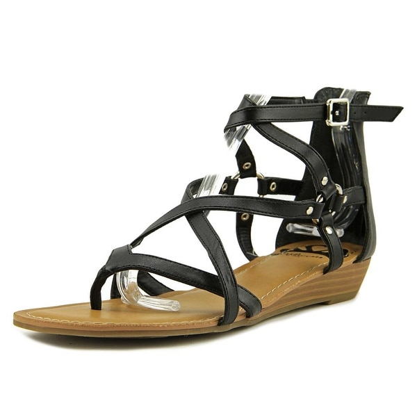 Fergalicious Dylan Open Toe Synthetic Gladiator Sandal