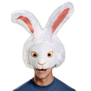 Adult White Rabbit Costume Headpiece