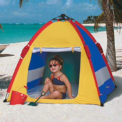 Kwik Cabana II UV Sun Stop'r with Shade Pop-Up Tent, 40x47x47 Inches - Multi