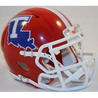 Louisiana Tech Riddell Speed Mini Football Helmet