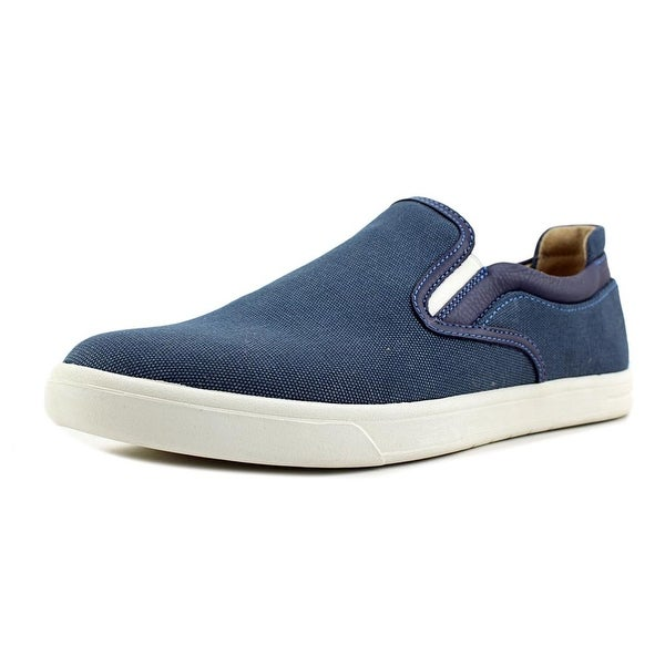 UGG Mateo Men Round Toe Canvas Blue Loafer