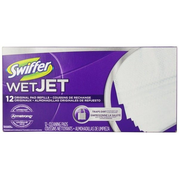 Swiffer 08441 Mop Floor Cleaner Pad Refills