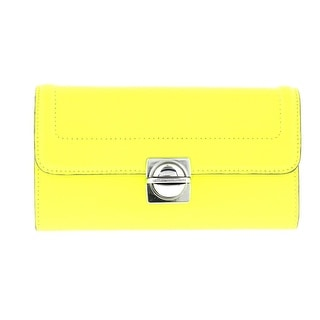 Marc by Marc Jacobs Womens Top Schooly SLGS Leather Organizational Clutch Wallet - Medium
