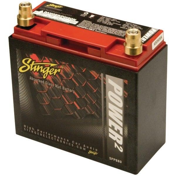 Stinger Spp680 680-Amp Battery With Metal Case