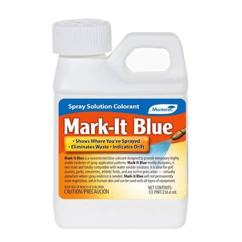 Monterey LG1130 Mark-It-Blue Spray Solution Colorant, 8 Oz