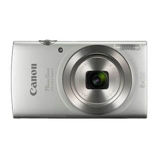 Canon PowerShot ELPH 180 20 MP Digital Camera (Silver)