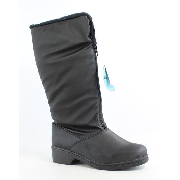 Tundra Womens Alice Black Snow Boots Size 7