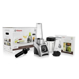 Vitamix S55 Personal Blender with 40-Ounce Container + 20-Ounce Container + S Series Base + Blending CookBook + Tamper