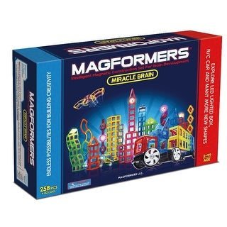Magformers Miracle Brain 258 Piece Magnetic Construction Set