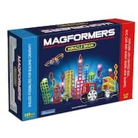 Magformers Miracle Brain 258 Piece Magnetic Construction Set - Multi