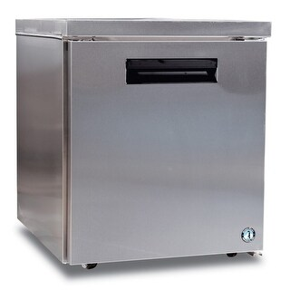 Hoshizaki CRMF27-LP 7.2 Cu. Ft. Low Profile Undercounter Freezer - Stainless Steel - N/A