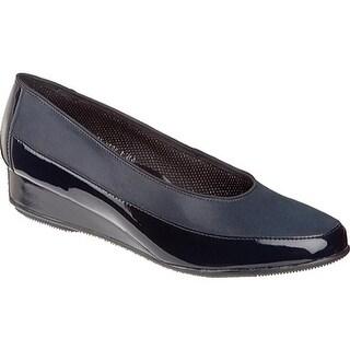 ara Women's Aron 45030 Blue Leather/Navy Patent
