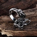 Vienna Jewelry Creatures of the Sea Stainless Steel Ring - Thumbnail 1