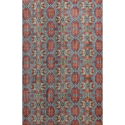 """Abstract Contemporary Oriental Living Room Area Rug Wool Hand-knotted - 8'5"""" x 11'4"""""""