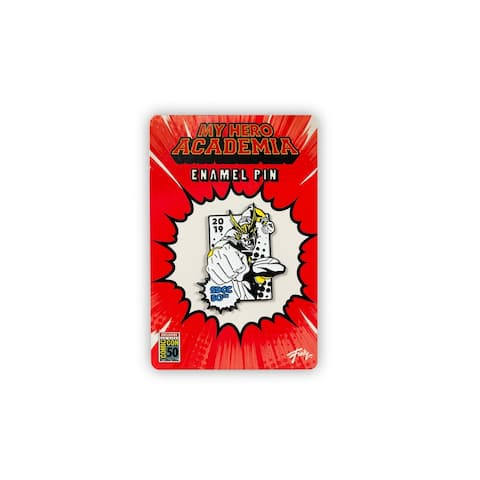My Hero Academia All Might SDCC 2019 Exclusive 2-Inch Enamel Collector Pin - Yellow