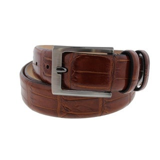 Tommy Bahama Mens Italian Leather Textured Casual Belt - 36