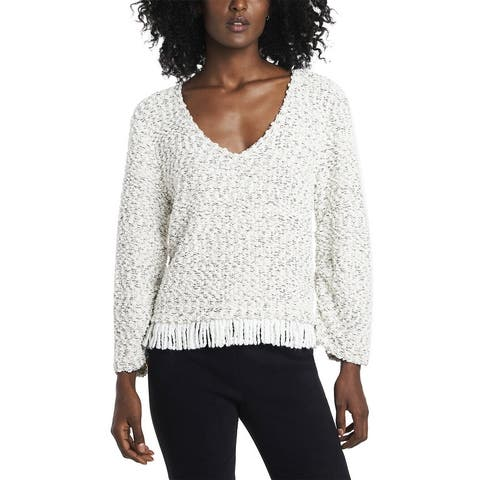 Vince Camuto Ruched Sleeve Boucle Sweater