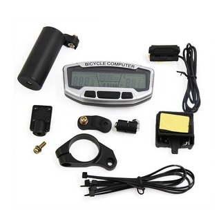 Cycling Waterproof Wireless Noctilucous LCD Computer Odometer Speedometer