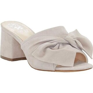 Vince Camuto Women's Sharrey Slide Tipsy Taupe True Suede