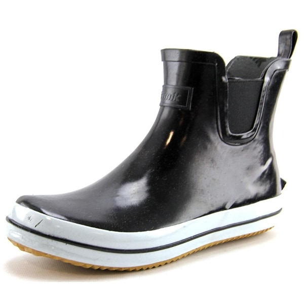 Kamik Sharonlo Women Round Toe Synthetic Black Rain Boot