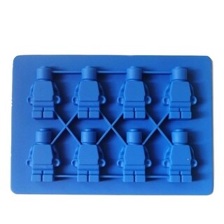Lego Minifigure Silicone Mold for Ice, Chocolates, Jello, Crayons and More!